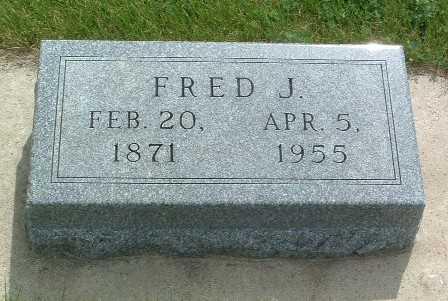 JOHNSON, FRED J. - Lyon County, Iowa | FRED J. JOHNSON