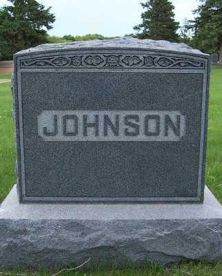 JOHNSON, HEADSTONE - Lyon County, Iowa | HEADSTONE JOHNSON
