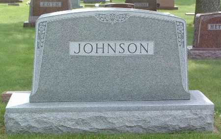 JOHNSON, HEADSTONE - Lyon County, Iowa   HEADSTONE JOHNSON