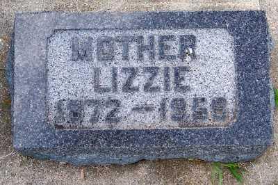 JOHNSON, LIZZIE (1872-1958) - Lyon County, Iowa   LIZZIE (1872-1958) JOHNSON