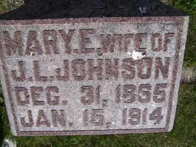 JOHNSON, MARY E. (MRS. J.L.) - Lyon County, Iowa | MARY E. (MRS. J.L.) JOHNSON