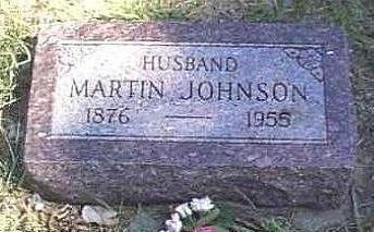 JOHNSON, MARTIN - Lyon County, Iowa | MARTIN JOHNSON