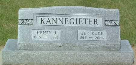 KANNEGIETER, HENRY J. - Lyon County, Iowa | HENRY J. KANNEGIETER