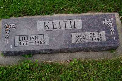 KEITH, GEORGE B. - Lyon County, Iowa | GEORGE B. KEITH