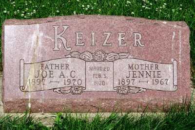 KEIZER, JENNIE - Lyon County, Iowa | JENNIE KEIZER