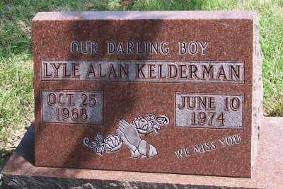 KELDERMAN, LYLE ALAN - Lyon County, Iowa | LYLE ALAN KELDERMAN