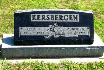 KERSBERGEN, ROBERT W. - Lyon County, Iowa | ROBERT W. KERSBERGEN