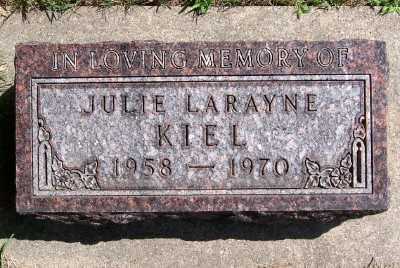 KIEL, JULIE LARAYNE - Lyon County, Iowa | JULIE LARAYNE KIEL