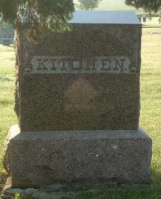 KITCHEN, FAMILY HEADSTONE - Lyon County, Iowa | FAMILY HEADSTONE KITCHEN