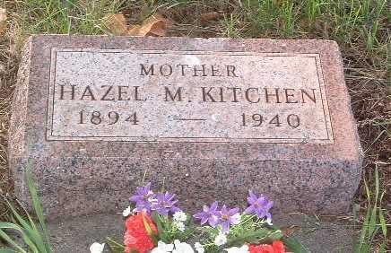 KITCHEN, HAZEL M. - Lyon County, Iowa | HAZEL M. KITCHEN
