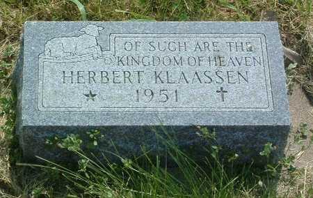 KLAASSEN, HERBERT - Lyon County, Iowa | HERBERT KLAASSEN