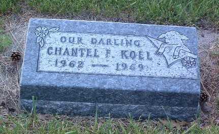 KOEL, CHANTEL F. - Lyon County, Iowa | CHANTEL F. KOEL