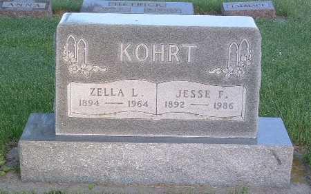 KOHRT, JESSE F. - Lyon County, Iowa | JESSE F. KOHRT