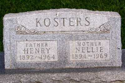 KOSTERS, HENRY - Lyon County, Iowa | HENRY KOSTERS