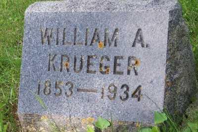 KRUEGER, WILLIAM A. - Lyon County, Iowa | WILLIAM A. KRUEGER