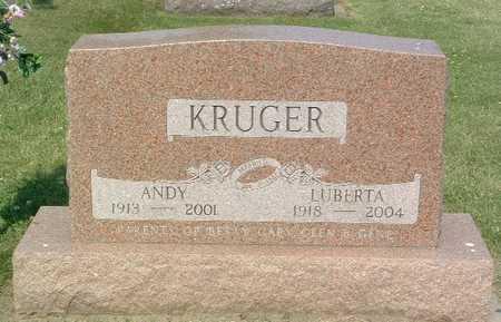 KRUGER, LUBERTA - Lyon County, Iowa | LUBERTA KRUGER