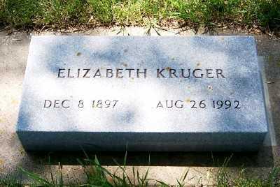 KRUGER, ELIZABETH - Lyon County, Iowa | ELIZABETH KRUGER