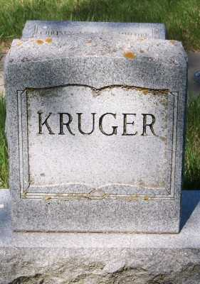 KRUGER, FAMILY HEADSTONE - Lyon County, Iowa | FAMILY HEADSTONE KRUGER