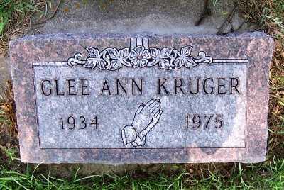 KRUGER, GLEE ANN - Lyon County, Iowa | GLEE ANN KRUGER