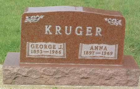 KRUGER, GEORGE J. - Lyon County, Iowa | GEORGE J. KRUGER
