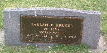 KRUGER, HARLAN D. - Lyon County, Iowa | HARLAN D. KRUGER