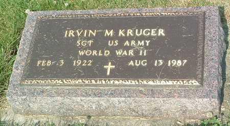KRUGER, IRVIN M. - Lyon County, Iowa | IRVIN M. KRUGER