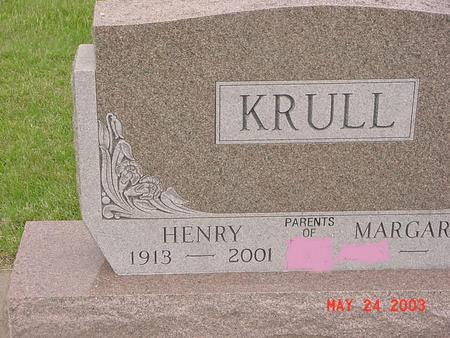 KRULL, HENRY (HANK) - Lyon County, Iowa | HENRY (HANK) KRULL