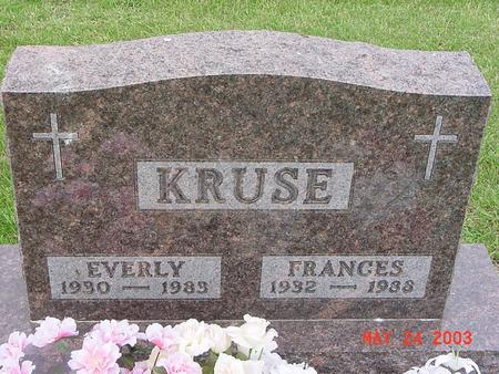 KRUSE, EVERLY - Lyon County, Iowa | EVERLY KRUSE