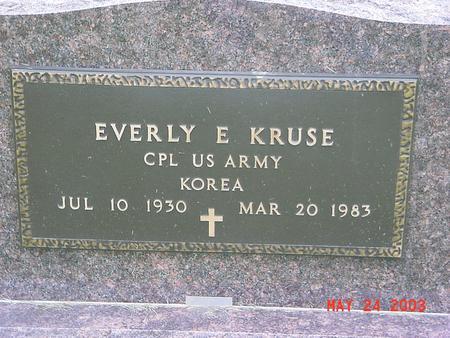KRUSE, EVERLY - Lyon County, Iowa | EVERLY KRUSE