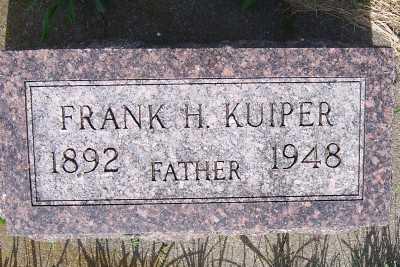 KUIPER, FRANK H. - Lyon County, Iowa | FRANK H. KUIPER
