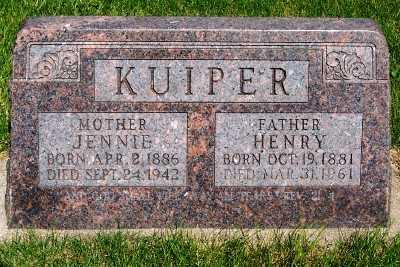 KUIPER, JENNIE - Lyon County, Iowa | JENNIE KUIPER