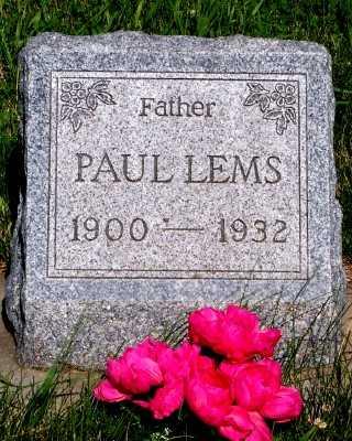 LEMS, PAUL - Lyon County, Iowa | PAUL LEMS