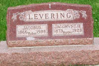 LEVERING, JACOMYNTJE - Lyon County, Iowa | JACOMYNTJE LEVERING