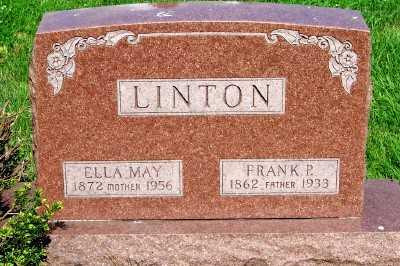 LINTON, ELLA MAY - Lyon County, Iowa | ELLA MAY LINTON