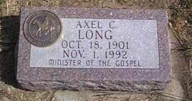 LONG, AXEL C. - Lyon County, Iowa | AXEL C. LONG
