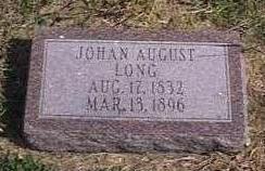 LONG, JOHAN AUGUST - Lyon County, Iowa   JOHAN AUGUST LONG
