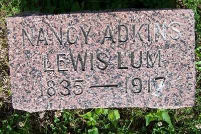 LEWIS LUM, NANCY ADKINS - Lyon County, Iowa | NANCY ADKINS LEWIS LUM