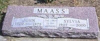 MAASS, SYLVIA VIOLINA - Lyon County, Iowa | SYLVIA VIOLINA MAASS