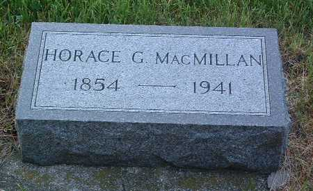 MACMILLAN, HORACE G. - Lyon County, Iowa | HORACE G. MACMILLAN