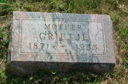 MARKUS, GRIETJE - Lyon County, Iowa   GRIETJE MARKUS