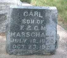 MARSCHALL, CARL - Lyon County, Iowa   CARL MARSCHALL