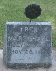 MARSCHALL, FRED - Lyon County, Iowa   FRED MARSCHALL