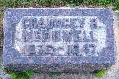 MCDOWELL, CHAUNCEY R. - Lyon County, Iowa | CHAUNCEY R. MCDOWELL