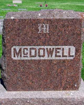 MCDOWELL, FAMILY HEADSTONE - Lyon County, Iowa | FAMILY HEADSTONE MCDOWELL