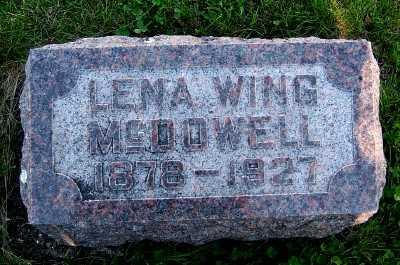MCDOWELL, LENA - Lyon County, Iowa   LENA MCDOWELL