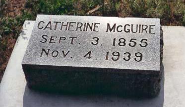 MCGUIRE, CATHERINE - Lyon County, Iowa   CATHERINE MCGUIRE