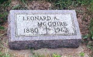MCGUIRE, LEONARD A - Lyon County, Iowa | LEONARD A MCGUIRE
