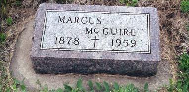 MCGUIRE, MARCUS - Lyon County, Iowa   MARCUS MCGUIRE