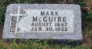 MCGUIRE, MARK - Lyon County, Iowa   MARK MCGUIRE