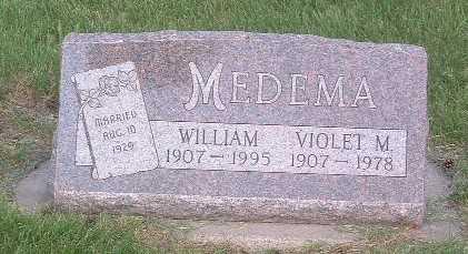 MEDEMA, WILLIAM - Lyon County, Iowa | WILLIAM MEDEMA